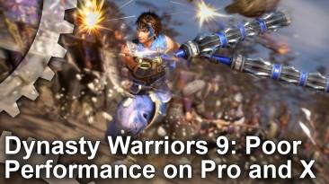 Dynasty Warriors 9 показала худшую производительность на PS4 Pro и Xbox One X среди всех игр в тестах Digital Foundry