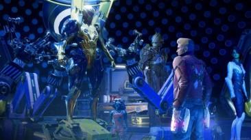 Появился ролик с прохождением первых 30ти минут Marvel's Guardians of the Galaxy