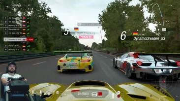 Бывают ли в онлайне нормальные пилоты? Ле-Ман | Gran Turismo Sport