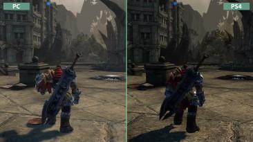 "Darksiders ""Сравнение графики на PC vs. PS4 Warmastered Edition"" (Candyland)"