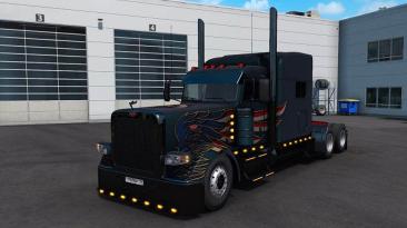 "Euro Truck Simulator 2 ""Peterbilt 389 Custom v1.2 (1.40.x)"""