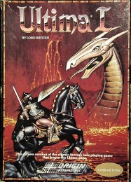 Обложка игры Ultima 1: The First Age of Darkness