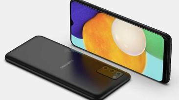 Готовится к своему дебюту смартфон Samsung Galaxy A03s