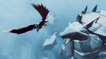 Скриншоты The Falconeer - ролевого экшена о битвах верхом на огромной птице над затонувшим миром
