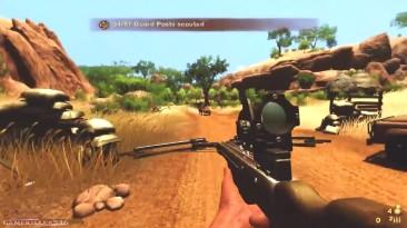 Far Cry 2 Геймплей: Снайперская винтовка и арбалет