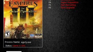 Age of Empires 3: The Asian Dynasties: Трейнер/Trainer (+5) [1.03] {MrAntiFun}