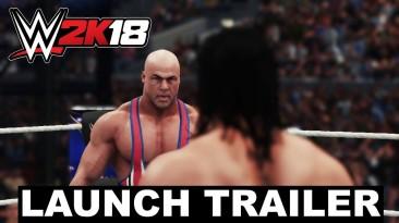 Опубликован релизный трейлер WWE 2K18