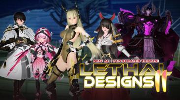 Phantasy Star Online 2 представляет новую коллекцию Lethal Designs II