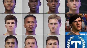 "FIFA 21 ""Пак лиц [Tom Ellipsis]"""