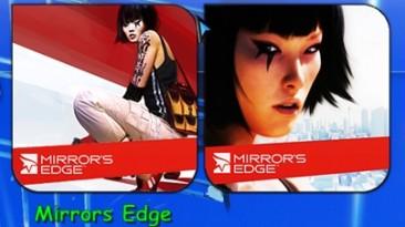 "Mirror's Edge ""PNG иконки для лаунчеров типа Rocket Dock"""