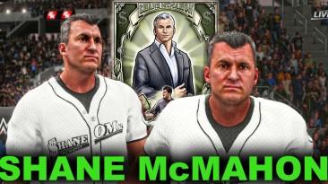 "WWE 2K18 ""SHANE McMAHON 2021 Наряд WWE 2K19 Порт мод"""