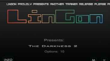 The Darkness 2: Трейнер/Trainer (+10) [1.0: STEAM] {LinGon}