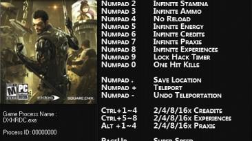 Deus Ex: Human Revolution ~ Directors Cut: Трейнер/Trainer (+15) [2.0.66.0] {FLiNG}