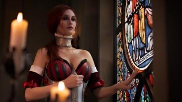 Косплей Сабрины из The Witcher 2
