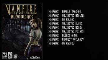 "Vampire: The Masquerade - Bloodlines: Трейнер/Trainer (+9) [v1.2""GOG""] {LIRW / GHL}"