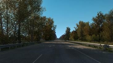 "American Truck Simulator ""Ранняя осень v1.5 (1.38)"""