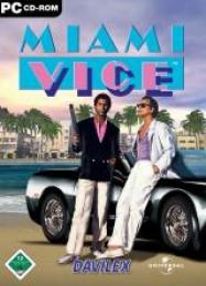Обложка игры Miami Vice