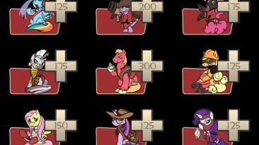 """Team fortress 2 """"Замена иконок класса в стиле MLP"""""""