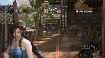 """Resident Evil 5 """"Джилл из re3 вместо Джилл в боевом костюме/ RE3 Jill to Jill battlesuit"""""""