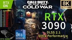 Assassin's Creed: Valhalla, Blacks Ops: Cold War, RDR2, Forza Horizon 4 и другие игры запустили в 8K на RTX 3090