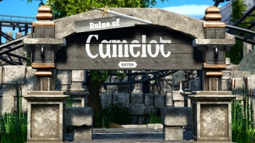 "Planet Coaster ""Руины camelot"""