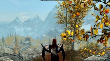 """Elder Scrolls 5: Skyrim """"Улучшенный Лорд Вампиров / Better Vampire Lord Transformation"""""""