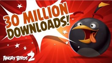 Игру Angry Birds 2 за две недели скачали 30 миллионов раз