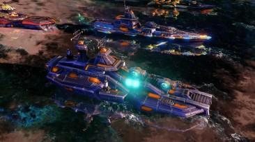 Red Alert 3 - Corona - Геймплее союзники военно-морской флот
