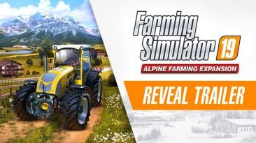 Совершите путешествие в горы в Farming Simulator 19: Alpine Farming Expansion
