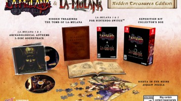 Aанонсированы физические издания La-Mulana 1 & 2