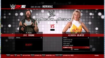 """WWE 2K16 """"Эрик Янг порт - обновленная и дополненная версия"""""""