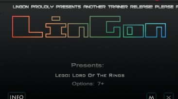 LEGO The Lord of the Rings: Трейнер/Trainer (+7) [1.0.0.47060] {LinGon}