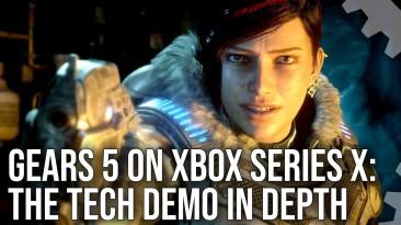 Технодемку Gears 5 на Xbox Series X сравнили с релизной версией на Xbox One X