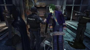 "Batman: Arkham Asylum ""joker jack nicholson HD skin"""
