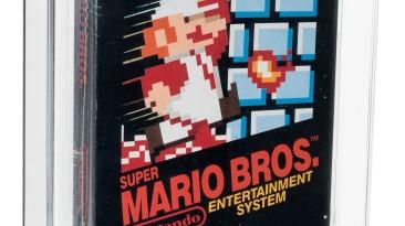 Картридж Super Mario Bros. продали за 50,5 миллионов рублей - это самый дорогой лот в истории видеоигр