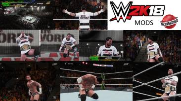 "WWE 2K18 ""CM Punk Update V2 MOD"""