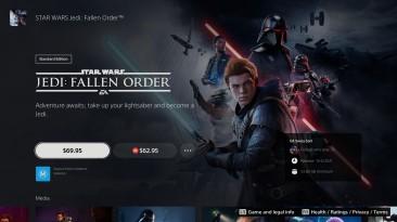 Star Wars Jedi: Fallen Order получила обновление для PS5 и Xbox Series X