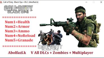 Call of Duty: Black Ops: Трейнер/Trainer (+5) [v0.305-05.125430.1] {Abolfazl.k}