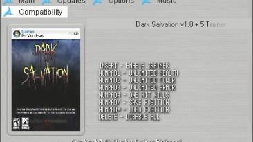 Dark Salvation: Трейнер (+5) [1.0] {h4x0r}
