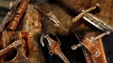 """Skyrim """"Обновленное железное оружие"""""""