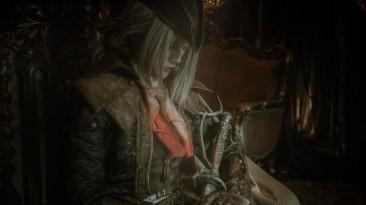 Мрачный косплей Леди Марии из Bloodborne: Old Hunters