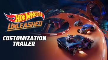 Новый трейлер Hot Wheels Unleashed демонстрирует возможности кастомизации