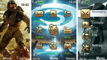 "Halo 3 ""Theme for Nokia s40 240x320"" by FERO-X"