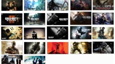 """Call of Duty: Black Ops 2 """"Коллекция обоев для рабочего стола"""""""