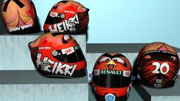 """F1 2011 """"Heikki Kovalainen 2012 Angry Birds Helmet [HD] """""""