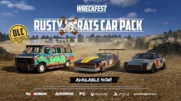 Набор Rusty Rats Car Pack добавляет в Wreckfest три новых автомобиля