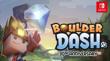 Стала известна дата релиза Boulder Dash 30th Anniversary на Nintendo Switch