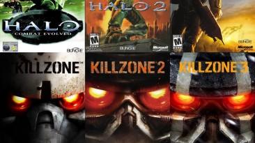 sosnOOley (часть 1): Halo & Killzone