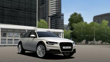 """City Car Driving """"Audi A6 Allroad v1.0 (v1.5.8 - 1.5.9.2)"""""""