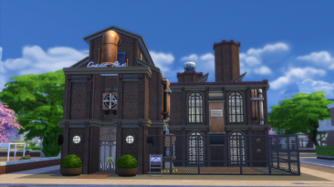 "The Sims 4 ""Работа на заводе [Emil228]"""